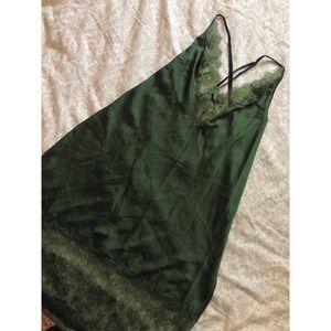 NWT✨Victoria's Secret Satin Lace Slip